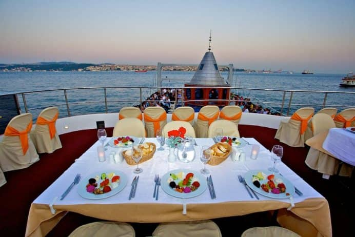 Istanbul New Year Party on Bosphorus 2022